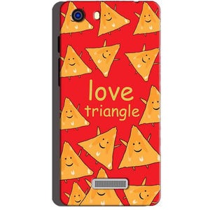 Micromax Unite 3 Q372 Mobile Covers Cases Love Triangle - Lowest Price - Paybydaddy.com