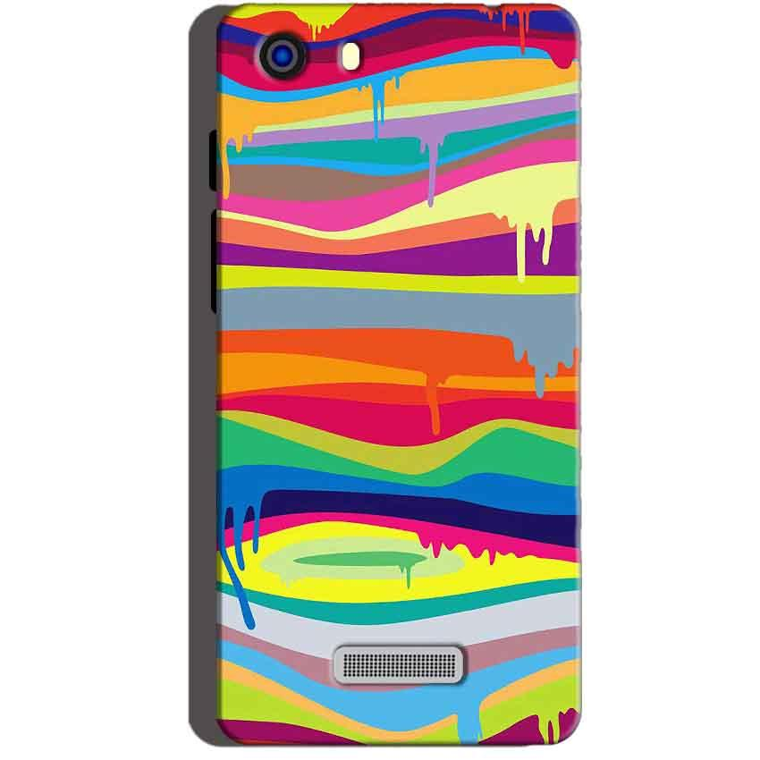 Micromax Unite 3 Q372 Mobile Covers Cases Melted colours - Lowest Price - Paybydaddy.com