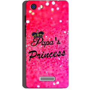 Micromax Unite 3 Q372 Mobile Covers Cases PAPA PRINCESS - Lowest Price - Paybydaddy.com