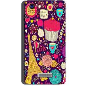 Micromax Unite 3 Q372 Mobile Covers Cases Paris Sweet love - Lowest Price - Paybydaddy.com