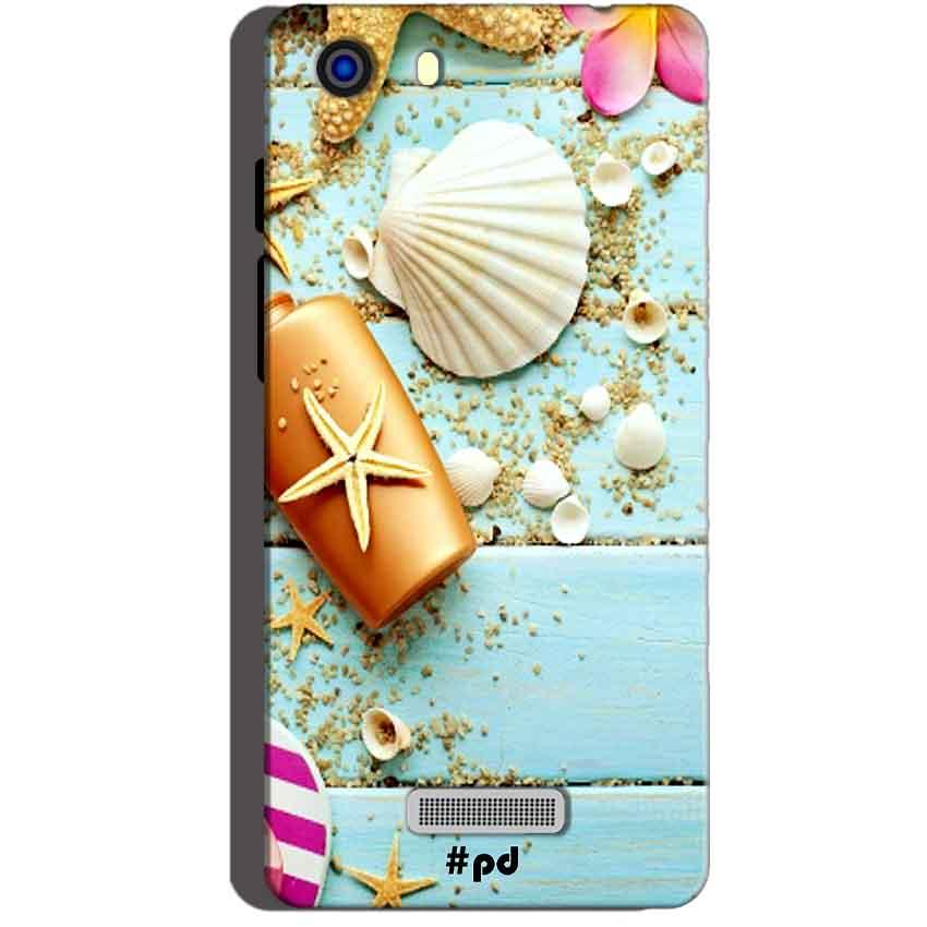 Micromax Unite 3 Q372 Mobile Covers Cases Pearl Star Fish - Lowest Price - Paybydaddy.com