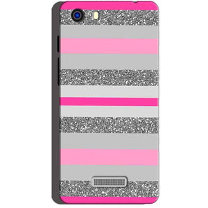Micromax Unite 3 Q372 Mobile Covers Cases Pink colour pattern - Lowest Price - Paybydaddy.com
