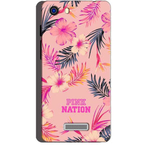 Micromax Unite 3 Q372 Mobile Covers Cases Pink nation - Lowest Price - Paybydaddy.com
