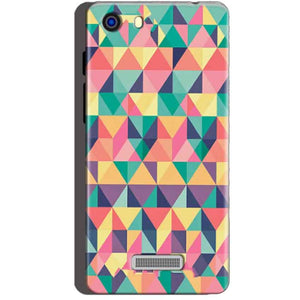 Micromax Unite 3 Q372 Mobile Covers Cases Prisma coloured design - Lowest Price - Paybydaddy.com