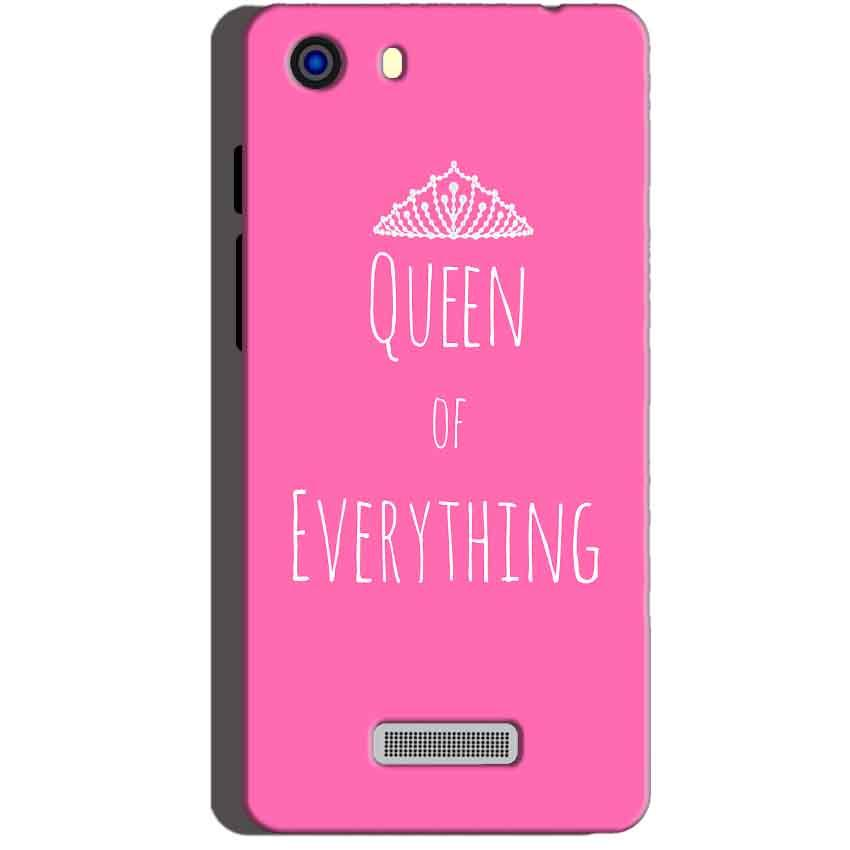 Micromax Unite 3 Q372 Mobile Covers Cases Queen Of Everything Pink White - Lowest Price - Paybydaddy.com