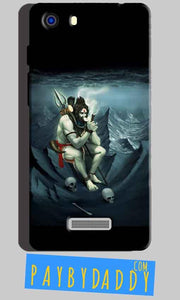 Micromax Unite 3 Q372 Mobile Covers Cases Shiva Smoking - Lowest Price - Paybydaddy.com