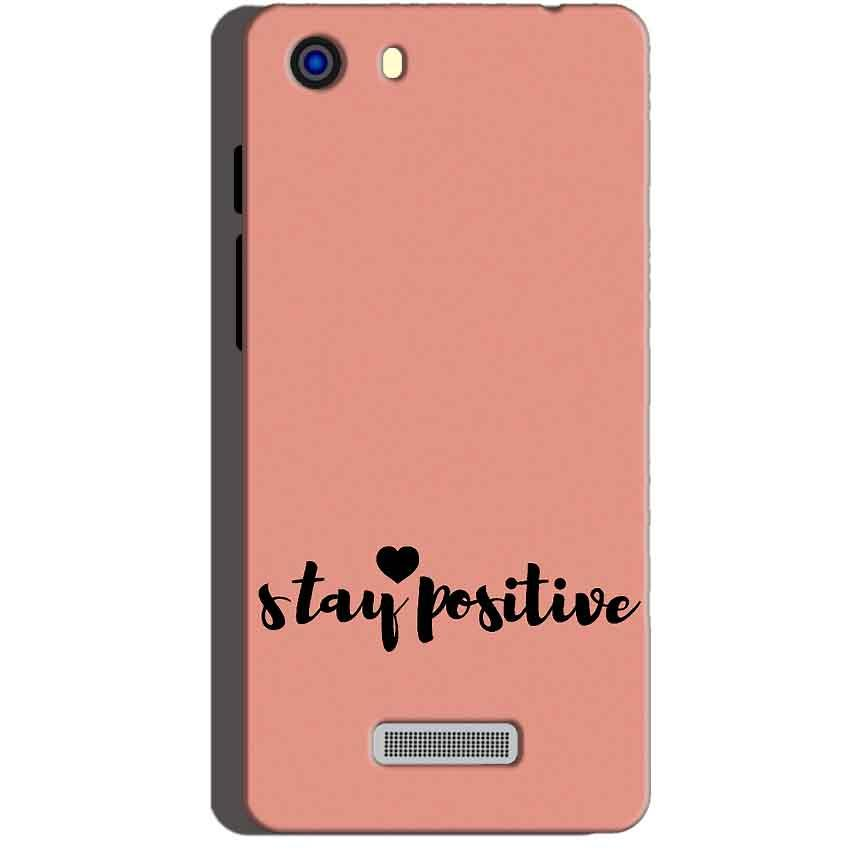 Micromax Unite 3 Q372 Mobile Covers Cases Stay Positive - Lowest Price - Paybydaddy.com