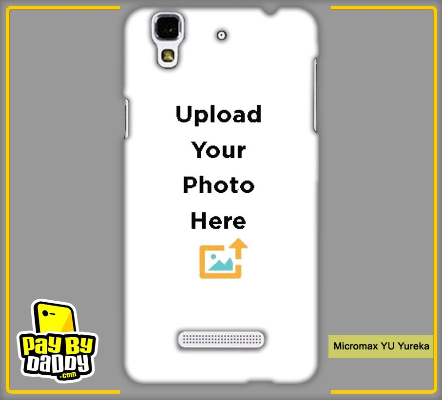 Customized Micromax YU Yureka Back Mobile Phone Covers & Back Covers with your Text & PhotoPhoto Cover,Custom Cover,Picture With Cover