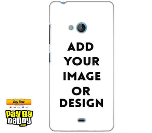 Customized Microsoft Lumia 540 Mobile Phone Covers & Back Covers with your Text & Photo