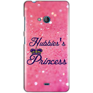 Microsoft Lumia 540 Mobile Covers Cases Hubbies Princess - Lowest Price - Paybydaddy.com