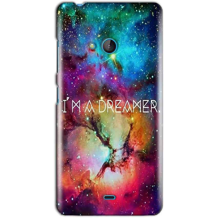Microsoft Lumia 540 Mobile Covers Cases I am Dreamer - Lowest Price - Paybydaddy.com