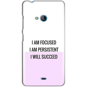 Microsoft Lumia 540 Mobile Covers Cases I am Focused - Lowest Price - Paybydaddy.com