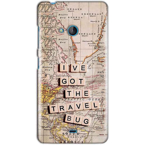 Microsoft Lumia 540 Mobile Covers Cases Live Travel Bug - Lowest Price - Paybydaddy.com