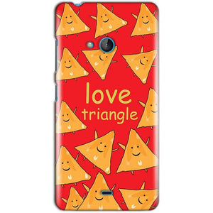 Microsoft Lumia 540 Mobile Covers Cases Love Triangle - Lowest Price - Paybydaddy.com