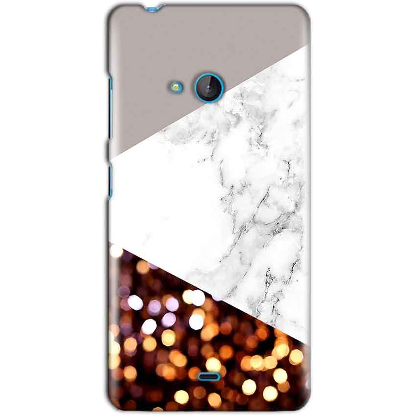 Microsoft Lumia 540 Mobile Covers Cases MARBEL GLITTER - Lowest Price - Paybydaddy.com