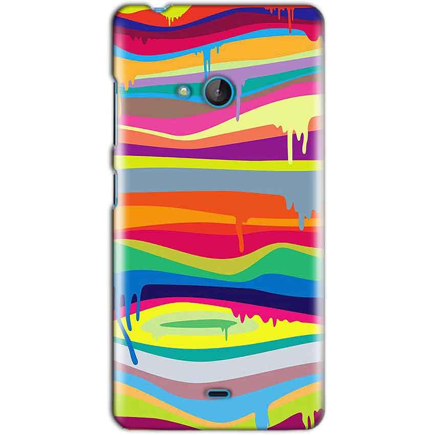 Microsoft Lumia 540 Mobile Covers Cases Melted colours - Lowest Price - Paybydaddy.com