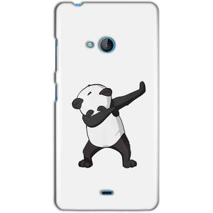 Microsoft Lumia 540 Mobile Covers Cases Panda Dab - Lowest Price - Paybydaddy.com