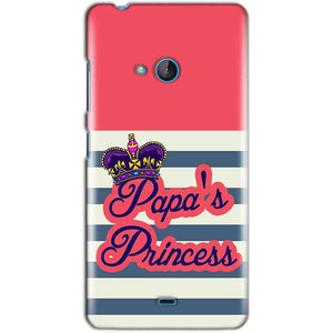 Microsoft Lumia 540 Mobile Covers Cases Papas Princess - Lowest Price - Paybydaddy.com