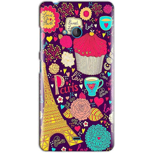 Microsoft Lumia 540 Mobile Covers Cases Paris Sweet love - Lowest Price - Paybydaddy.com