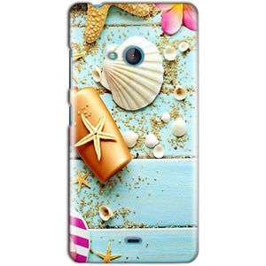 Microsoft Lumia 540 Mobile Covers Cases Pearl Star Fish - Lowest Price - Paybydaddy.com