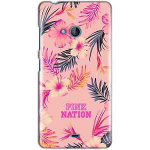 Microsoft Lumia 540 Mobile Covers Cases Pink nation - Lowest Price - Paybydaddy.com