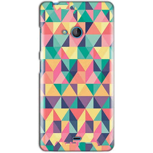Microsoft Lumia 540 Mobile Covers Cases Prisma coloured design - Lowest Price - Paybydaddy.com
