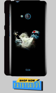 Microsoft Lumia 540 Mobile Covers Cases Shiva Aghori Smoking - Lowest Price - Paybydaddy.com