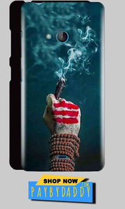 Microsoft Lumia 540 Mobile Covers Cases Shiva Hand With Clilam - Lowest Price - Paybydaddy.com