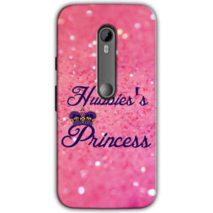 Moto G Turbo Edition Mobile Covers Cases Hubbies Princess - Lowest Price - Paybydaddy.com