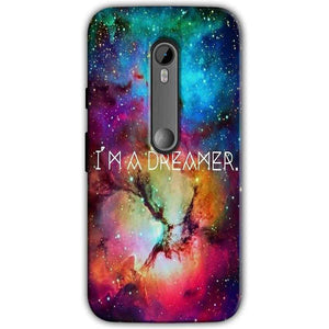 Moto G Turbo Edition Mobile Covers Cases I am Dreamer - Lowest Price - Paybydaddy.com