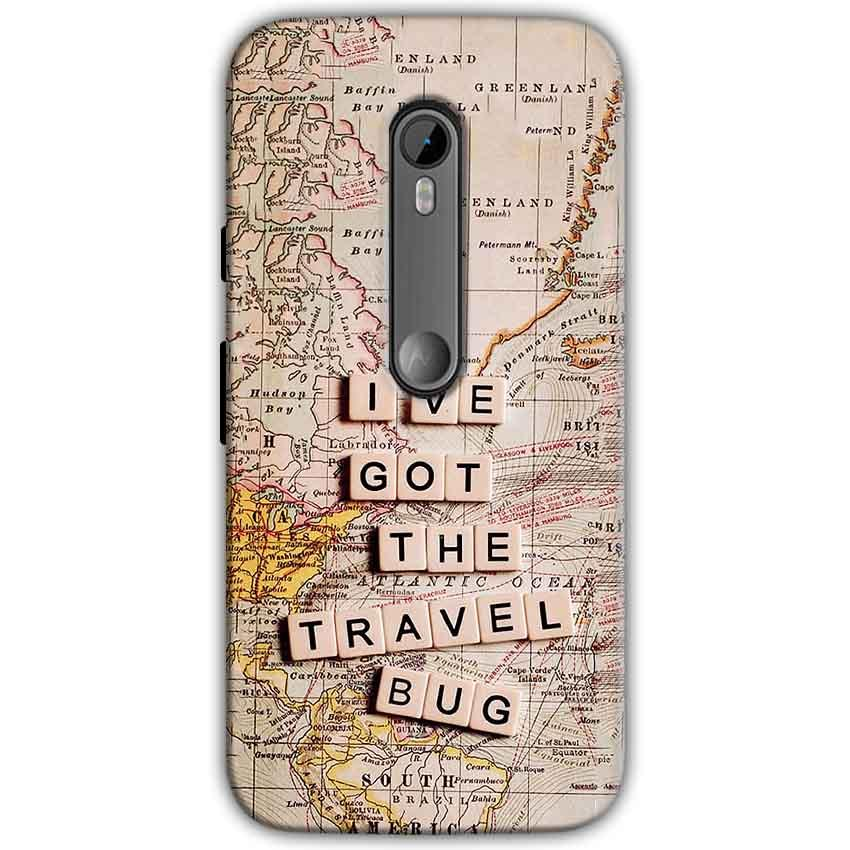 Moto G Turbo Edition Mobile Covers Cases Live Travel Bug - Lowest Price - Paybydaddy.com