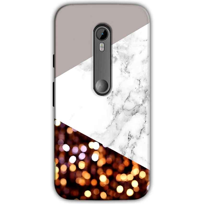 Moto G Turbo Edition Mobile Covers Cases MARBEL GLITTER - Lowest Price - Paybydaddy.com