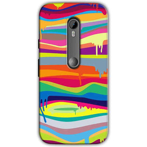 Moto G Turbo Edition Mobile Covers Cases Melted colours - Lowest Price - Paybydaddy.com