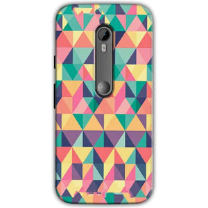 Moto G Turbo Edition Mobile Covers Cases Prisma coloured design - Lowest Price - Paybydaddy.com