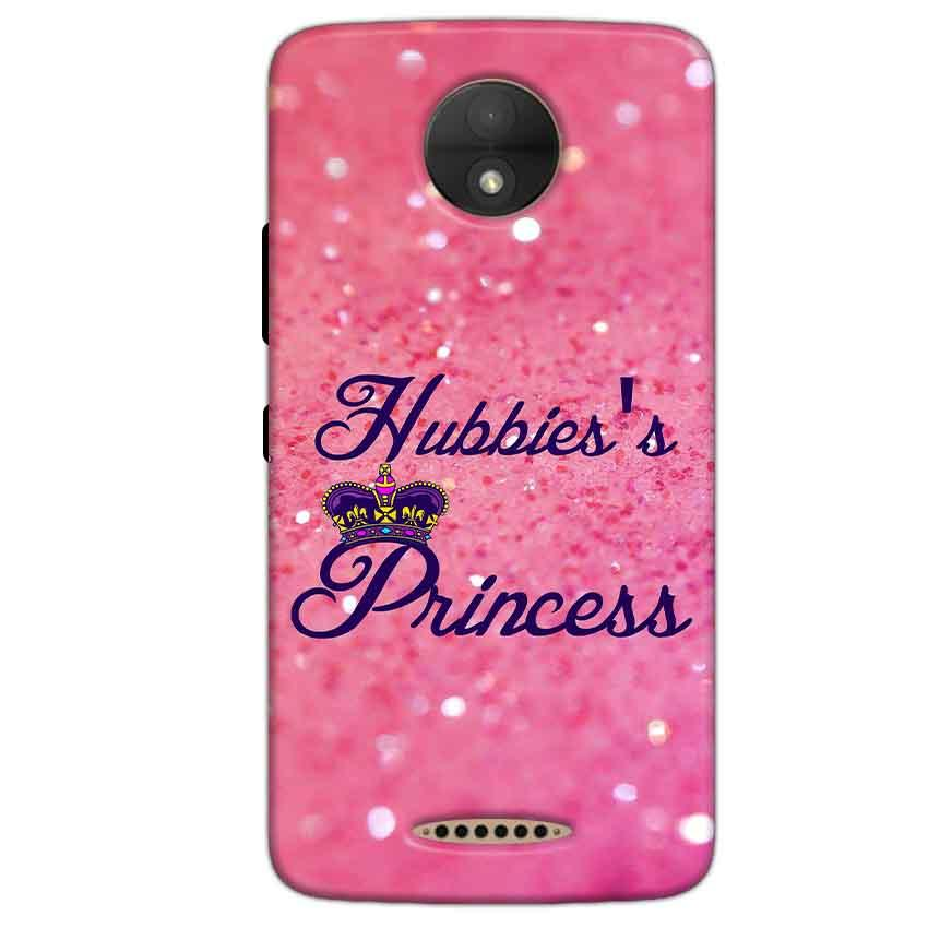 Motorola Moto C Mobile Covers Cases Hubbies Princess - Lowest Price - Paybydaddy.com