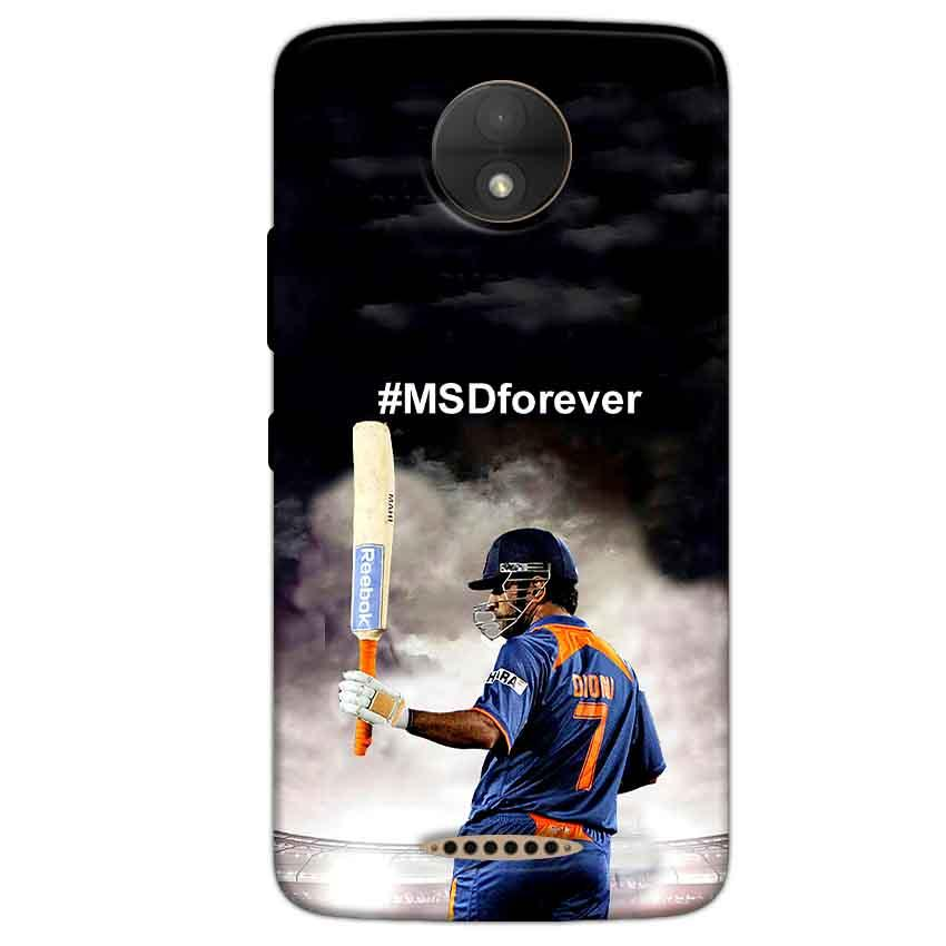 Motorola Moto C Mobile Covers Cases MS dhoni Forever - Lowest Price - Paybydaddy.com