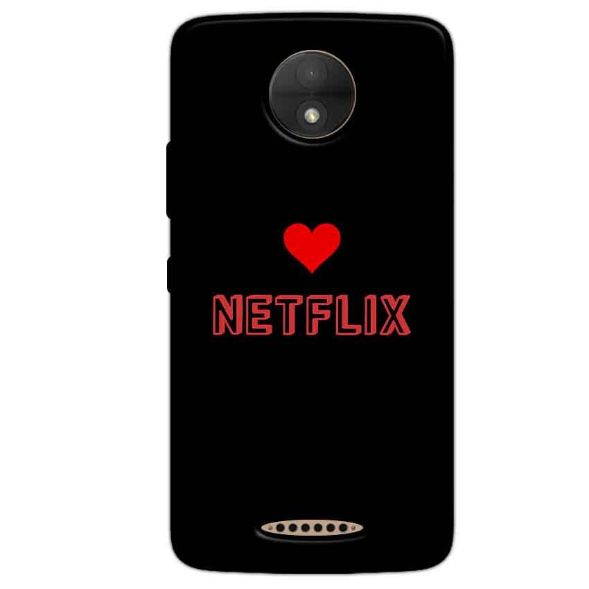 Motorola Moto C Mobile Covers Cases NETFLIX WITH HEART - Lowest Price - Paybydaddy.com