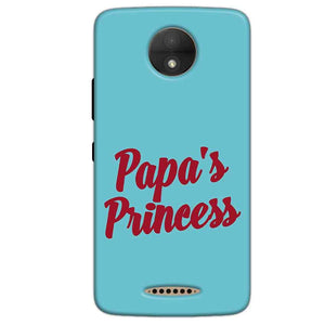 Motorola Moto C Mobile Covers Cases Papas Princess - Lowest Price - Paybydaddy.com