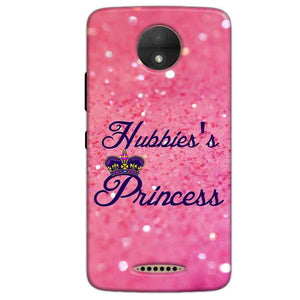 Motorola Moto C Plus Mobile Covers Cases Hubbies Princess - Lowest Price - Paybydaddy.com