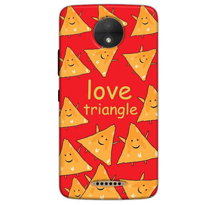 Motorola Moto C Plus Mobile Covers Cases Love Triangle - Lowest Price - Paybydaddy.com