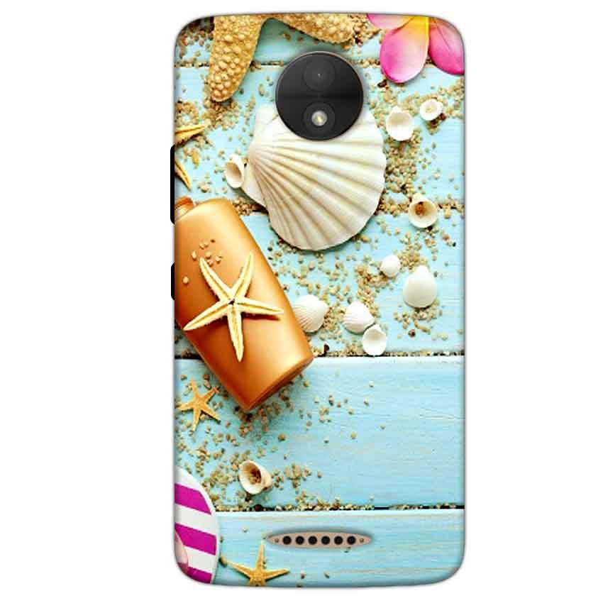 Motorola Moto C Plus Mobile Covers Cases Pearl Star Fish - Lowest Price - Paybydaddy.com