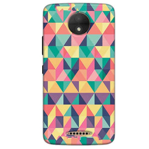 Motorola Moto C Plus Mobile Covers Cases Prisma coloured design - Lowest Price - Paybydaddy.com