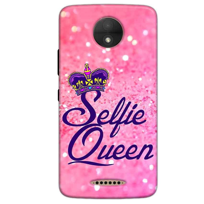 Motorola Moto C Plus Mobile Covers Cases Selfie Queen - Lowest Price - Paybydaddy.com