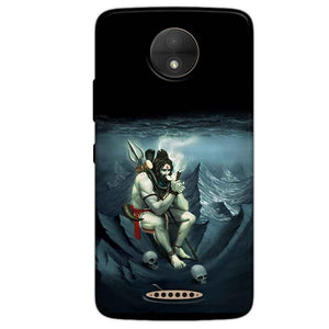 Motorola Moto C Plus Mobile Covers Cases Shiva Smoking - Lowest Price - Paybydaddy.com