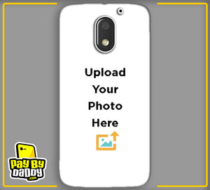 Customized Motorola Moto E3 Mobile Phone Covers & Back Covers with your Text & Photo