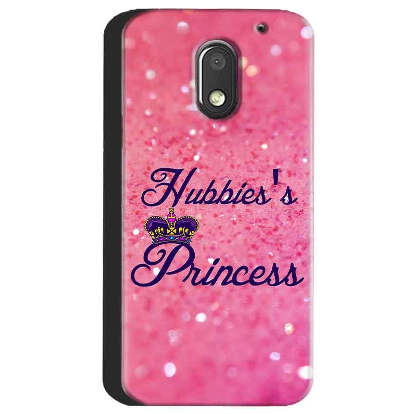 Motorola Moto E3 Power Mobile Covers Cases Hubbies Princess - Lowest Price - Paybydaddy.com