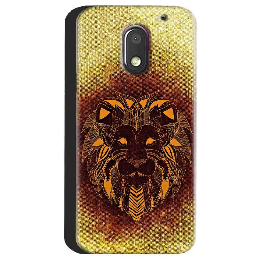 Motorola Moto E3 Power Mobile Covers Cases Lion face art - Lowest Price - Paybydaddy.com