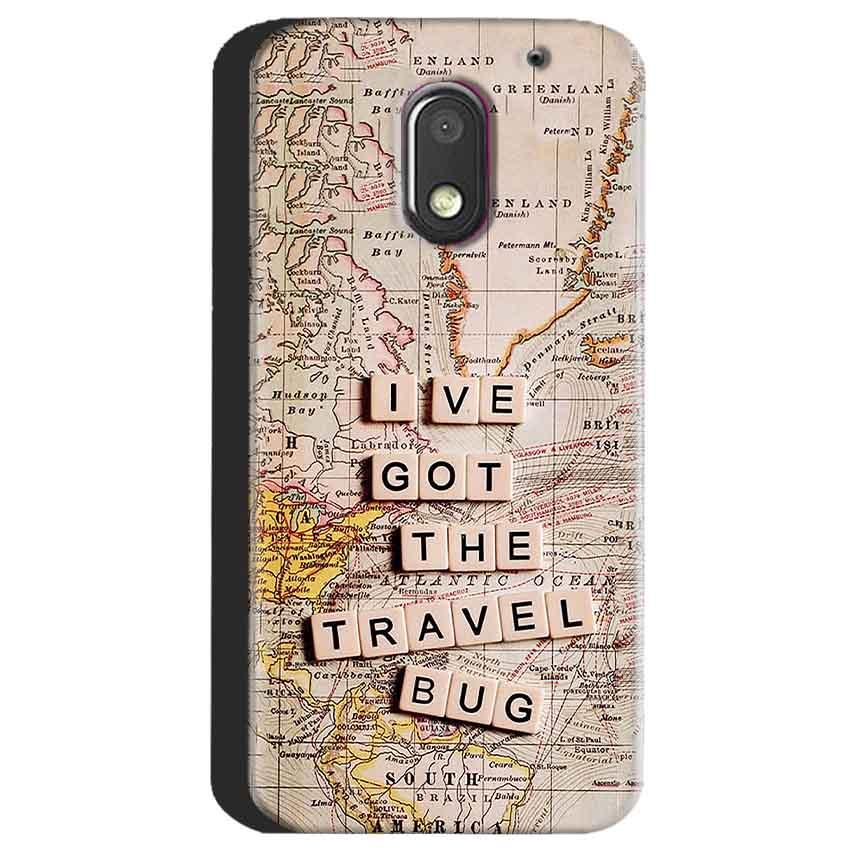 Motorola Moto E3 Power Mobile Covers Cases Live Travel Bug - Lowest Price - Paybydaddy.com