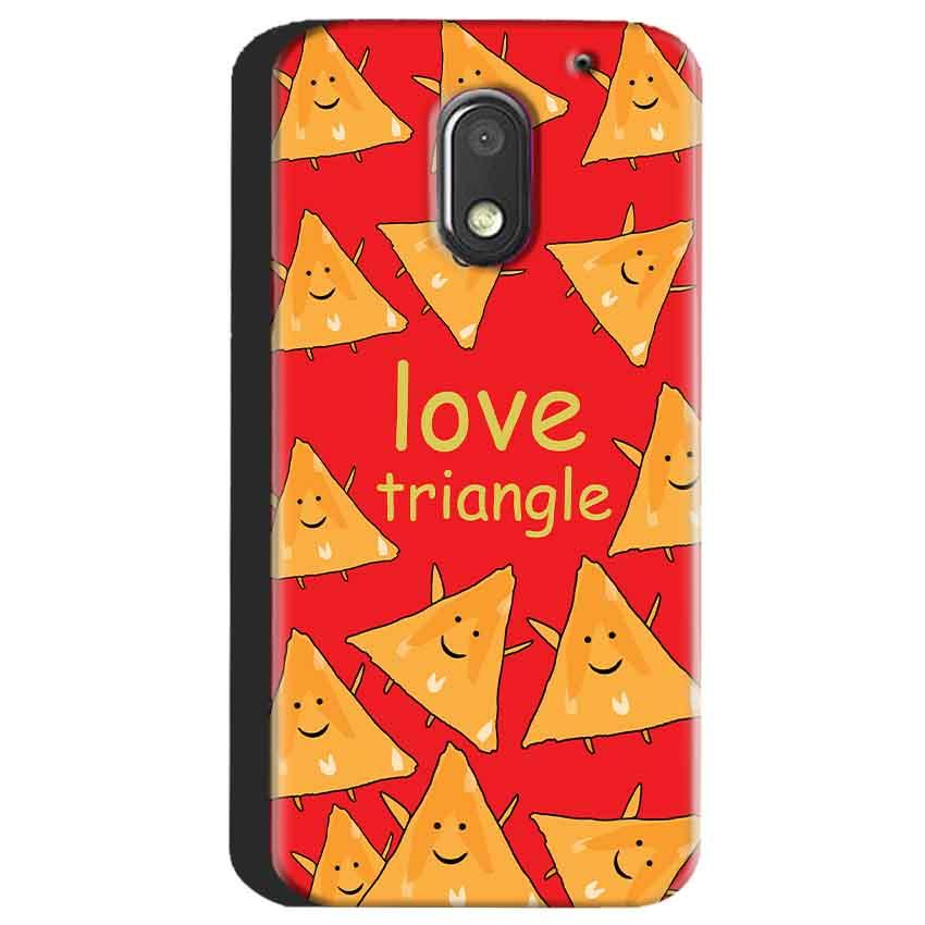 Motorola Moto E3 Power Mobile Covers Cases Love Triangle - Lowest Price - Paybydaddy.com