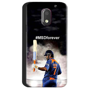 Motorola Moto E3 Power Mobile Covers Cases MS dhoni Forever - Lowest Price - Paybydaddy.com